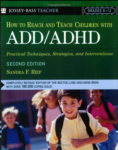 teaching strategies and techniques for add ADHD students