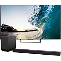 Sony XBR-75X850E 75 4K Ultra HD LED Smart TV with Wi-Fi and Bluetooth with HT-ST5000 7.1.2ch 800W Dolby Atmos Sound Bar