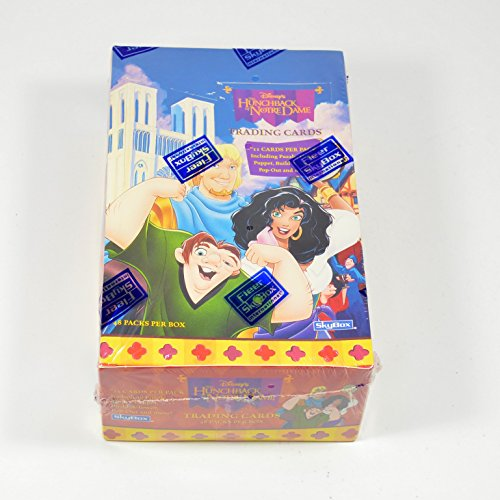 (1996 SkyBox Disney's Hunchback of Notre Dame Trading Card Box (48 Packs) )