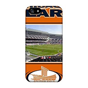 Durable Defender Case For Iphone 5/5s Tpu Cover(chicago Bears)