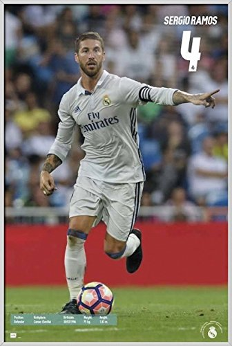 Real Madrid - Framed Sports Poster / Print