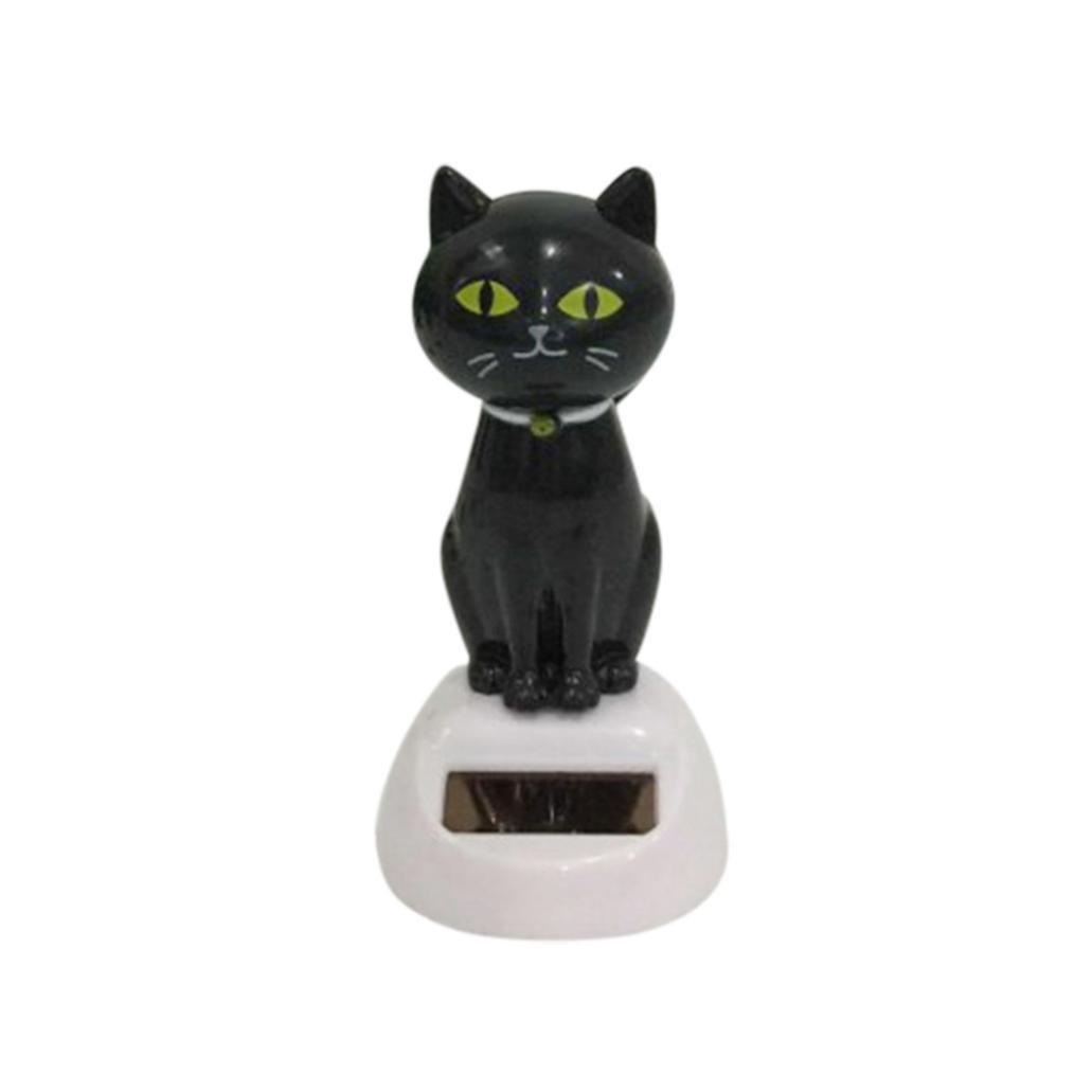 Amazon.com: GTIA Solar Power Dancing Cute Cat Desk Car Toy Ornament ...
