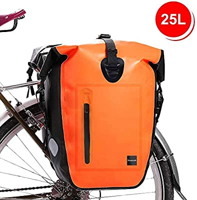 Waterfly Bolsa Alforja Trasera para Bicicleta 25L Alforja Maletero ...