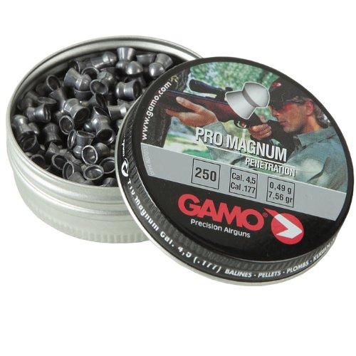 Gamo - Piombini Diabolos Pro-Magnum, calibro 4,5 mm, confezione da 250 pezzi, modello 200231