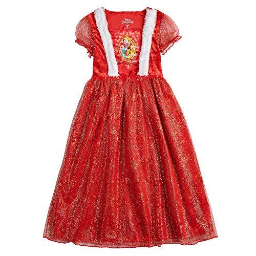 Princess Christmas Dresses (Disney Girls' Fantasy Nightgowns (6,)