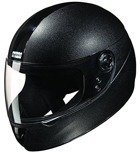 Studds Chrome Elite Full Face Helmet (Black, L)