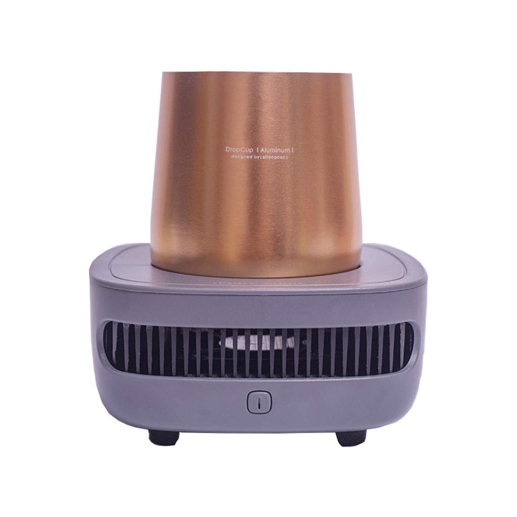 Outdoor Portable Refrigeration Cup Cooler Iced Beer Coffee Beverage Fast Cooling Cup Extreme Fast Cooling Camping 36W 5X4.9X4.9 White