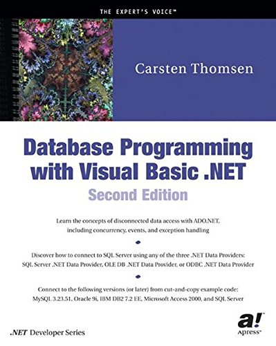 Database Programming with Visual Basic  NET, Second Edition