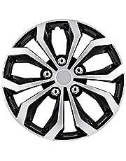 Pilot Automotive WH553-16S-BS Black/Silver 16 Inch 16