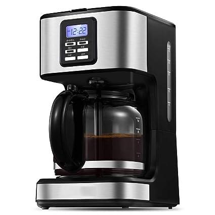 Huoduoduo Máquina del Café, Café Completamente Automático, 1,8 litros De Capacidad Grande