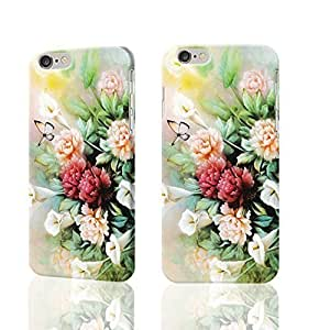 Butterfly and Bloosom Peony 3D Rough iphone 6 plusd 5.5 inches Case Skin, fashion design image custom iphone 6 plusd 5.5 inches , durable iphone 6 plusd 5.5 hard 3D case cover for iphone 6 plusd 5.5, Case New Design By Codystore