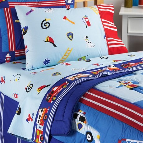 Olive Kids Heroes 200TC Sheet Set Multiple Toddler