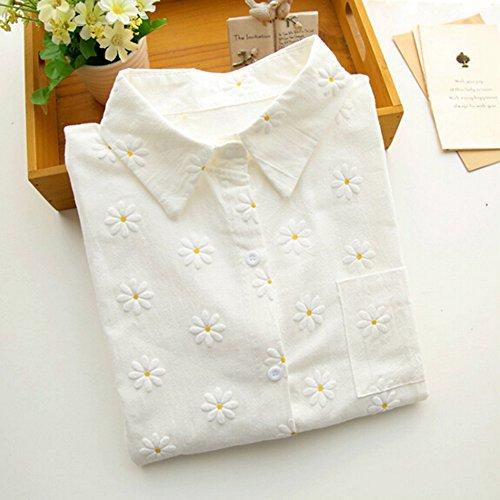KAKA Spring Autumn Blouses Printing