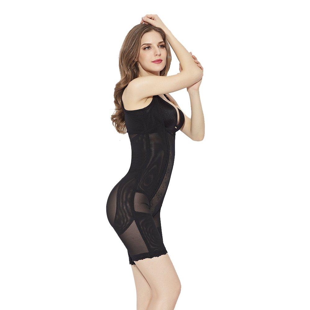 4INX Shapewear Bodysuit Tummy Control Body Shaper Firm Control Shapewear Seamless