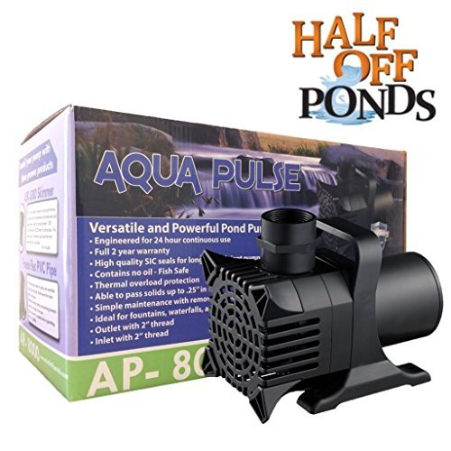 Aqua Pulse 6100 GPH Hybrid Drive Submersible Pump - Up To 6,100 GPH Max Flow by Patriot (Image #5)