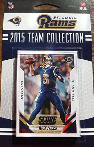 St Louis Rams Memorabilia (St. Louis Rams 2015 Score Factory Sealed Team Set Nick Foles Todd Gurley Rookie Card Plus)
