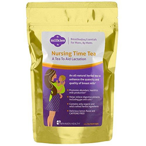 Milkies Nursing Time Tea: A Tea to Increase Milk Supply (60 servings) by Fairhaven Health