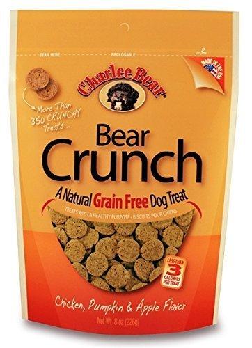 - Charlee Bear Grain-Free Bear Crunch Chicken, Pumpkin & Apple Flavor - 2 Pack (16oz total)