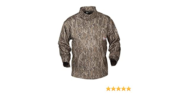 0d14ae88 Amazon.com: Banded Tec Fleece Mock Neck Shirt, Color: Bottomland (B1030007- BL): Sports & Outdoors