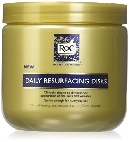 Roc Daily Resurfacing Disks 28 Count (3 - Cream Daily Cleansing