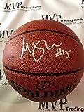 #10: Beckett Authentic Moritz Wagner Rookie Autograph NBA Spalding I/O Basketball