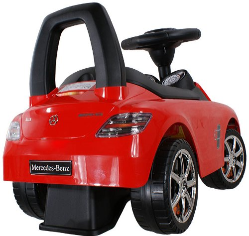 Baby Car ARTI Mercedes SLS AMG 332 Red Ride-On Activity Toy
