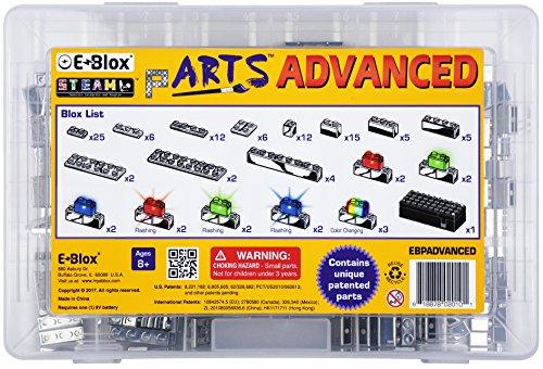 E-Blox pARTS Advanced Set Building