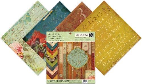 (K&Company Specialty Paper Pad, Brenda Walton Scribe)