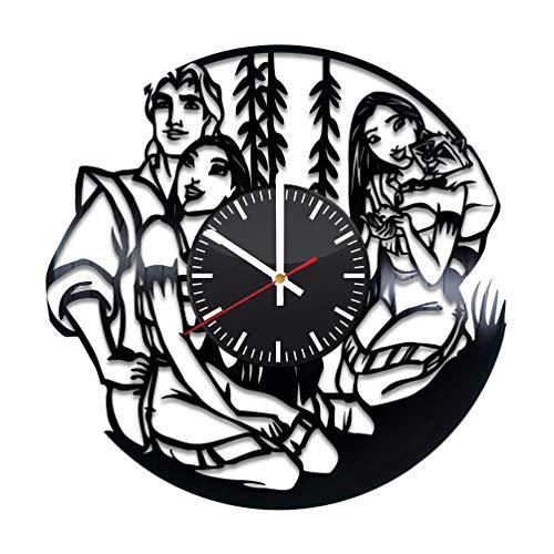 Pocahontas Vinyl Clock - Pocahontas Walt Disney Vinyl...