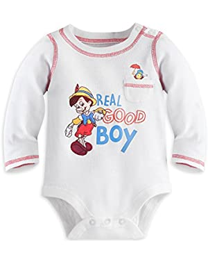 Disney Pinocchio Cuddly Bodysuit for Baby