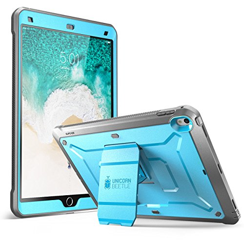 SUPCASE iPad Pro 10.5 case 2017, Heavy Duty [Unicorn Beetle PRO] with Built-in Screen Protector Full-Body Rugged Protective Case for Apple iPad Pro 10.5 inch 2017 Only, Not Fit 2018 Version (Blue)