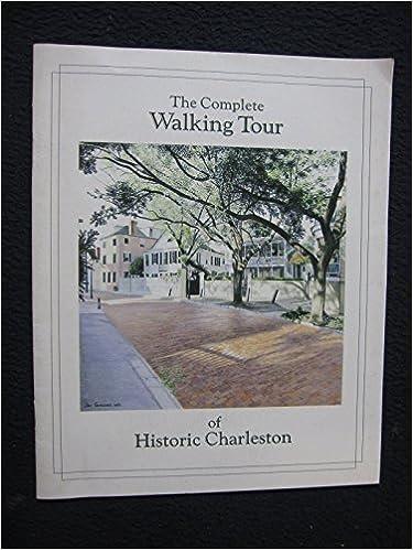 Charleston South Carolina Walking Tour & Guidebook