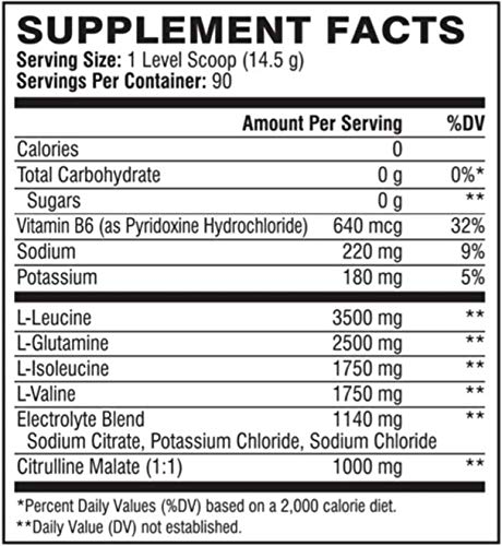 XTEND Original BCAA Powder Tropic Thunder | Sugar Free Post Workout Muscle Recovery Drink with Amino Acids | 7g BCAAs for Men & Women | 90 Servings