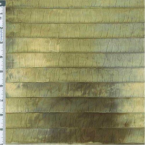 Green/Yellow Tie-Dye Ruffle Knit, Fabric Sold By the (Knit Ruffle Pattern)