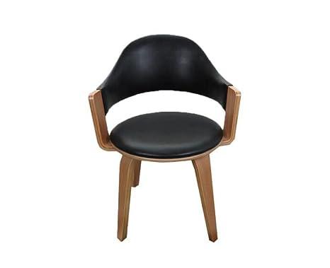 Sgabello in legno sedia girevole in legno massello semplice ed