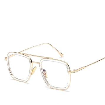 DURIAN MANGO Gafas de Sol con Montura Cuadrada Vintage ...