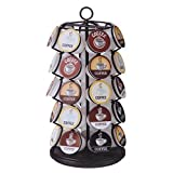 New Coffee 35 K-cups Pods Carousel Storage Holder Rack Organizer K Cups Cup