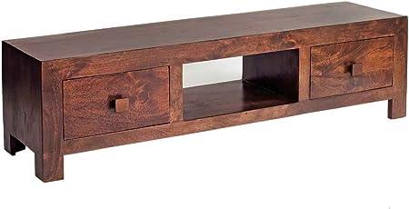 Indian Hub Toko Mango Plasma Media Mueble para televisor, tamaño: W 145 cm, D 40 cm, H 40 cm: Amazon.es: Hogar