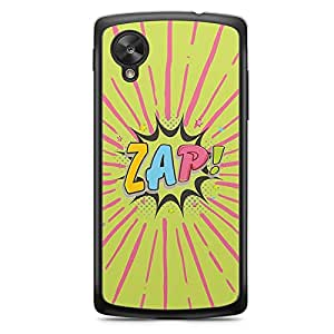 Zap Nexus 5 Transparent Edge Case - Comic Collection