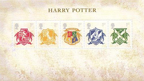 Harry Potter - Hogwarts Crests Collectible Postage Stamp UK - Uk Stamp