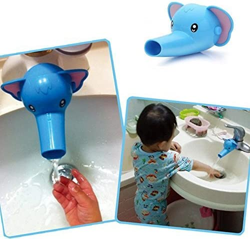 51WAY Sink Faucet Extender for Toddlers Faucet Extender for Kids,Duck,Elephant,Dolphin