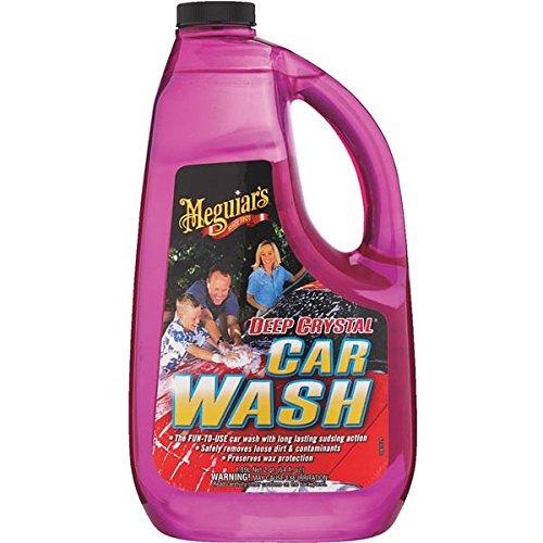 - Meguiars G10464 64 Oz Deep Crystal Car Wash
