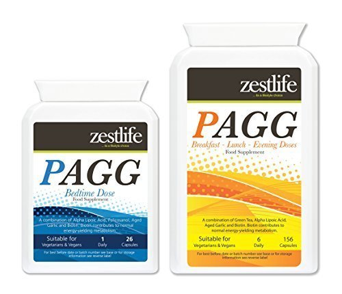 PAGG Stack TWO MONTHS SUPPLY - Tim Ferris NEW IMPROVED FORMULA. Zestlife's PAGG is the UKs highest grade formula available by Zestlife by Zestlife
