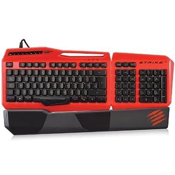 MAD CATZ s.t.r.i.k.e 3 Gaming Teclado para PC - Rojo [Nordic Disposición]: Amazon.es: Electrónica