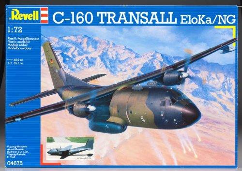 ドイツレベル 1/72 C-160 トランザール ELOKA / NG 04675 プラモデル
