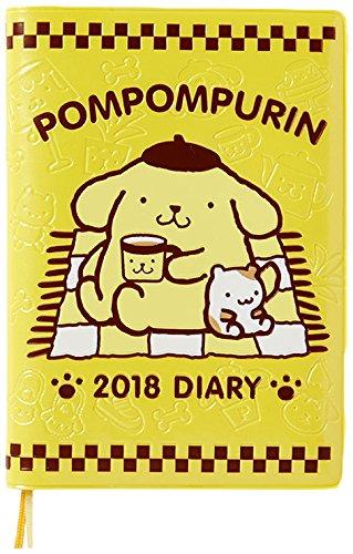 Pompom pudding A6 diary 2018 by Sanrio
