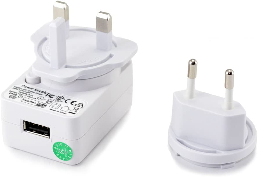 Usb Power Adapter 5v 1a Switchable Uk 3 Pin Amazon Co Uk Electronics
