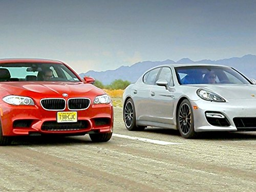 BMW M5 vs Porsche Panamera GTS!