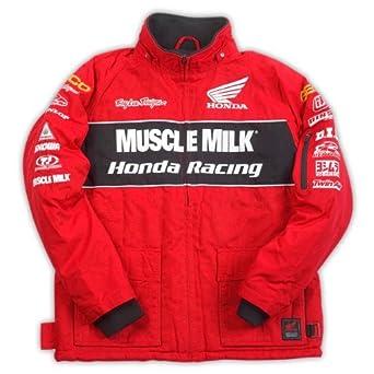 Troy Lee Designs Team Honda Muscle Milk Jacket Red (Medium) at ... 6dbd1a7c524c