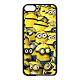 Cute Classical Cartoon Minions Mobile Phone Case Despicable Me Minions Series Custom Protective Phone Case for Ipod Touch 6th Generation